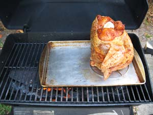 Beer Can Chicken - Grill