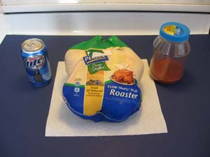 Beer Can Chicken - Ingredients
