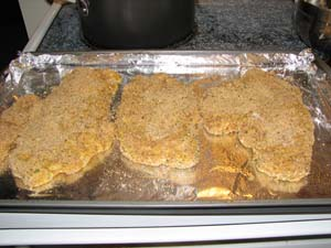 Chicken Parmesan - Breaded
