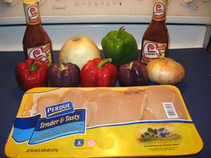 Chicken Shish Kabobs - Ingredients