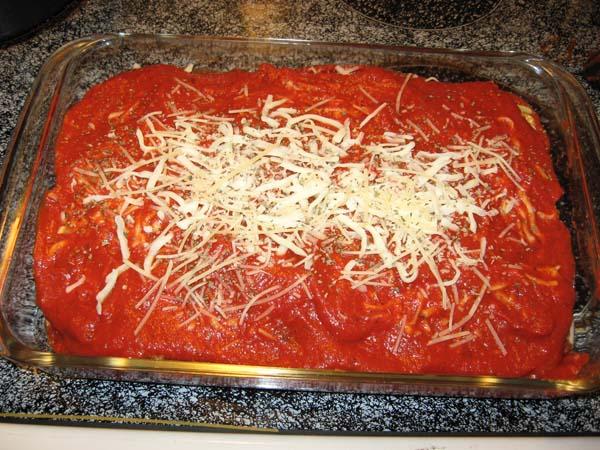 Eggplant Parmesan - Baking Dish