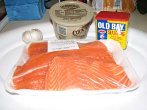 Grilled Salmon - Ingredients