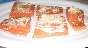Grilled Salmon - Season