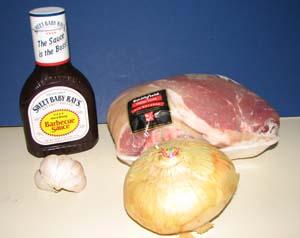 Slow Cooker Pulled Pork - Ingredients