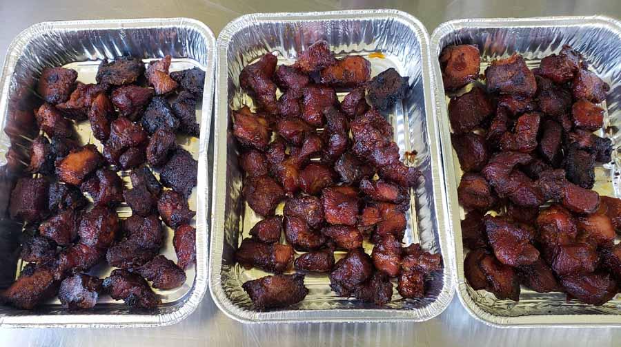 Burnt Ends Pork Shoulder 190 Trays